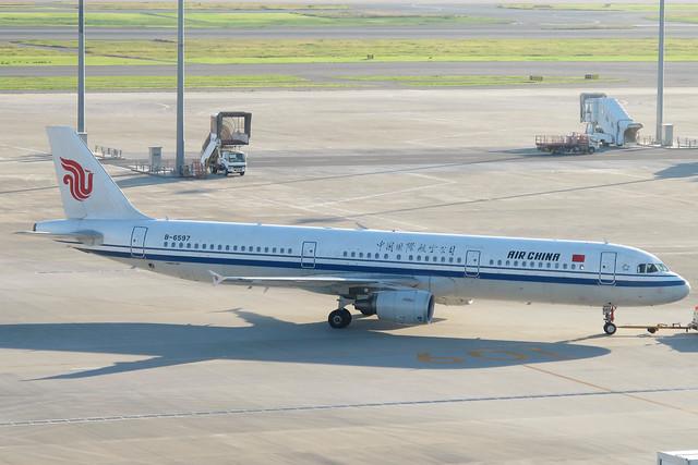 Air China A321-200(B-6597)
