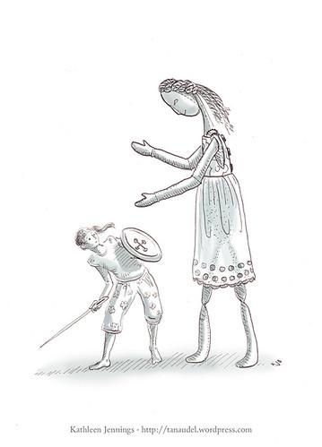 Illustration Friday: Scary