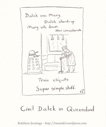 Civil Dalek in Queensland