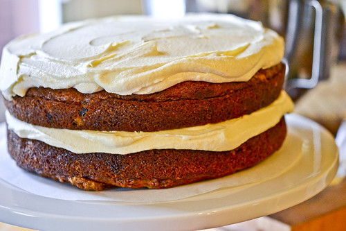Pumpkin Spice Cake with Cream Cheese Frosting 12