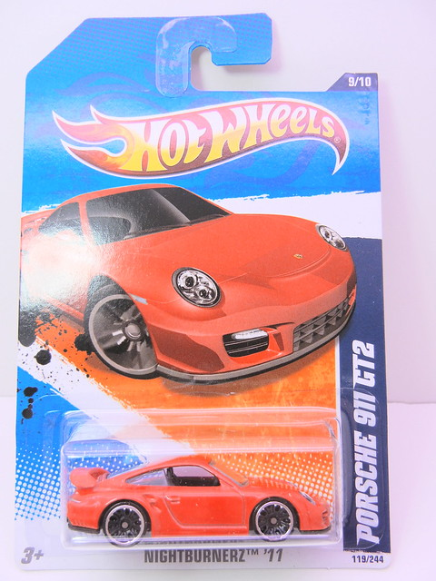 hot wheels porsche 911 gt2 red (1)