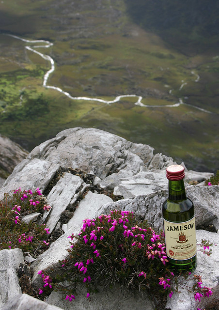 Jameson on the rocks