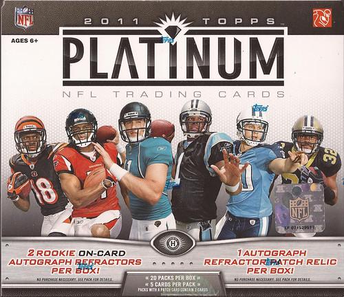 2011 Topps Platinum box