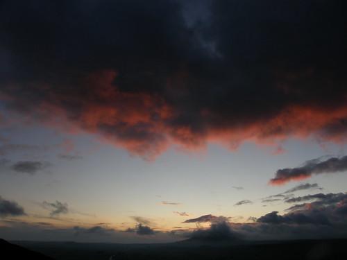 Pre-dawn clouds