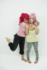 Pinkie Pie and Fluttershy are Friends