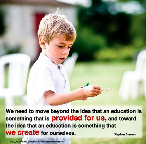 education is something we create by shareski, on Flickr