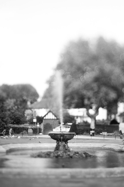 Bokeh Fountain