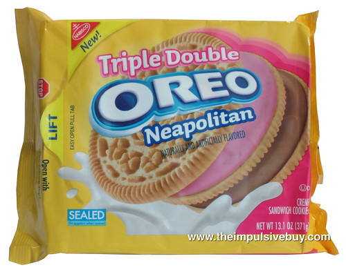 Triple Double Oreo Neapolitan