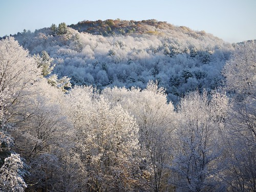 Frosted hills