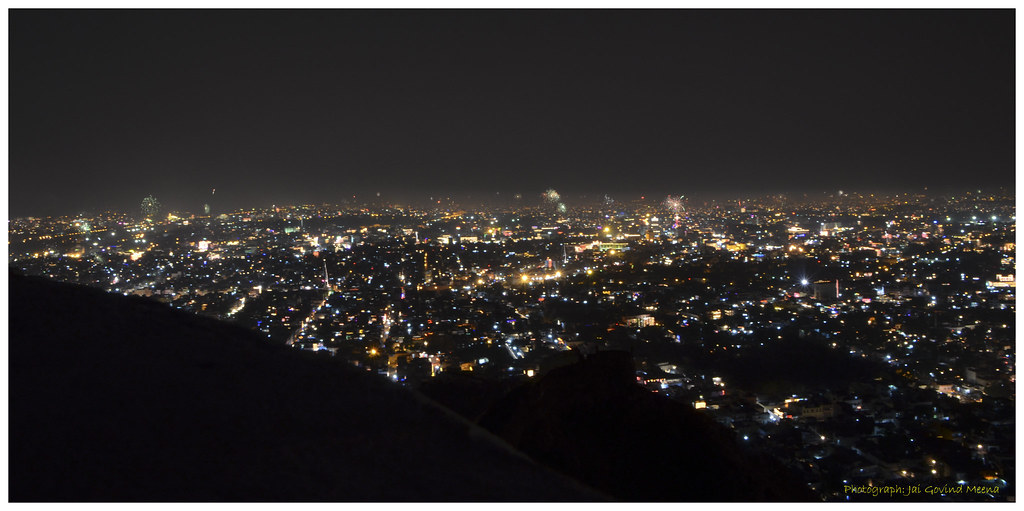 Jaipur's view from Nahargarh Fort