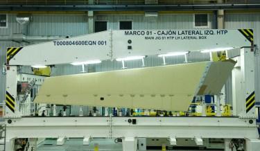 Estabilizador horizontal A350XWB