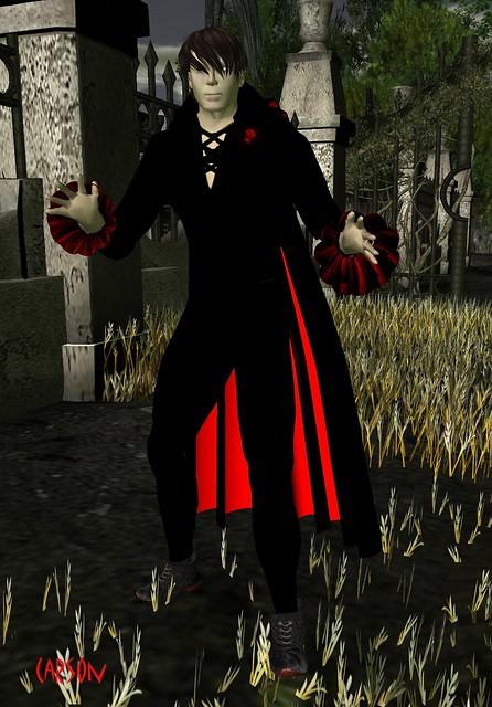 Pumpkin Head - Vampire Avatar