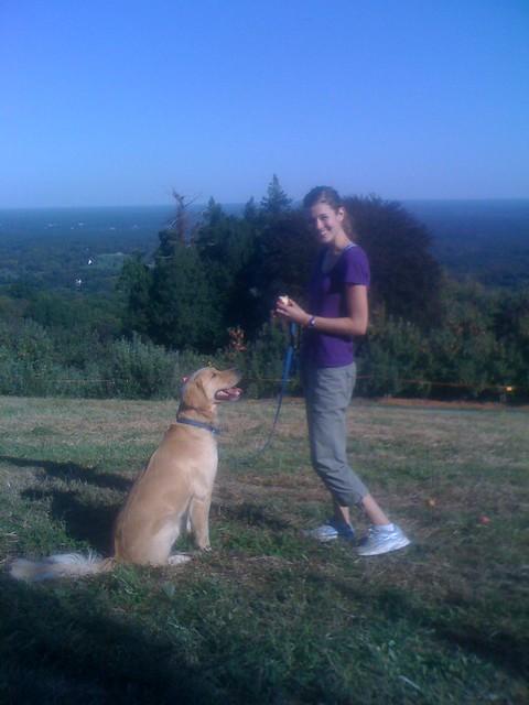 Carter Mountain with Bo