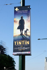 Tintin : Promotion du film