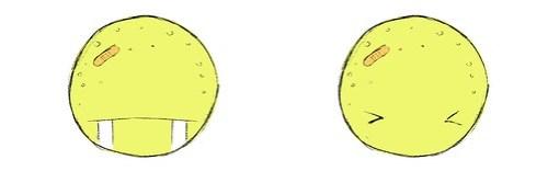 Menino Lua: expressõe faciais de Chorando Litros e Sapeca