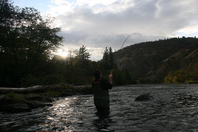 Klickitat Steelhead Fishing