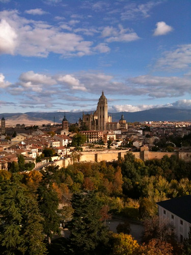 The town of Segovia