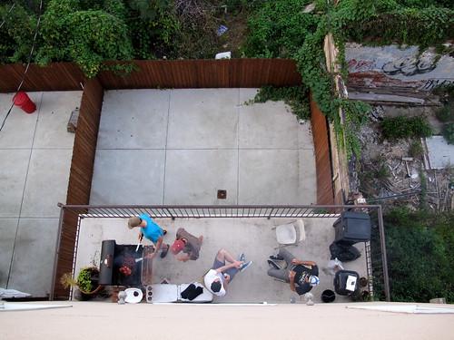 Philadelphia backyards