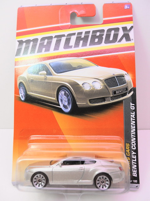 matchbox bentley continental GT champagne (1)