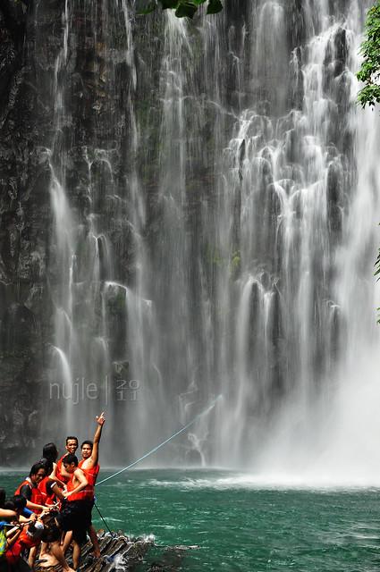 Tinago Falls - Raft