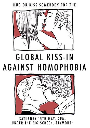 Global Kiss-in Homophobia poster 2