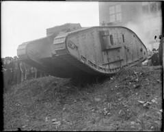 WWI: British tank Britannia