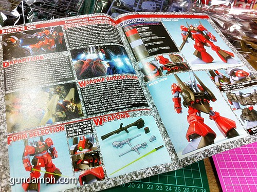 MG Rick Dias Quattro Custom RED Review OOB Build (6)