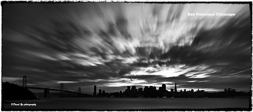 San Francisco Cityscape by davidyuweb