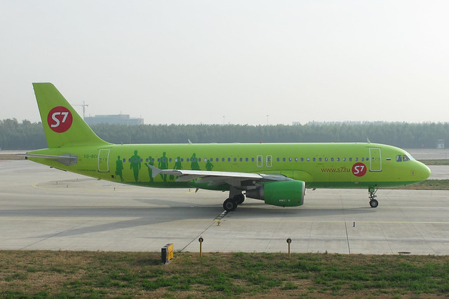 S7 Airlines A320-200(VQ-BCI)