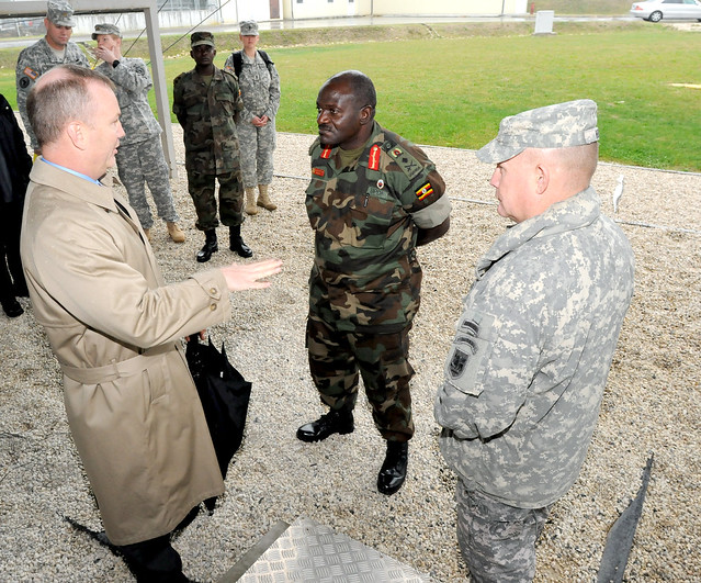Ugandan People's Defense Force Commander Visits USARAF