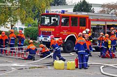 Jahresabschlussübung Jugendfeuerwehren Gustavsburg 29.10.11