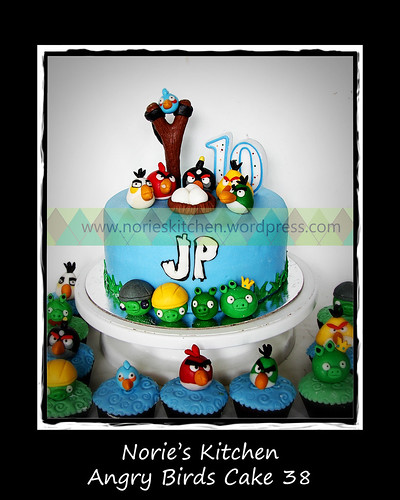 Norie's Kitchen - Angry Birds Cake 38 by Norie's Kitchen