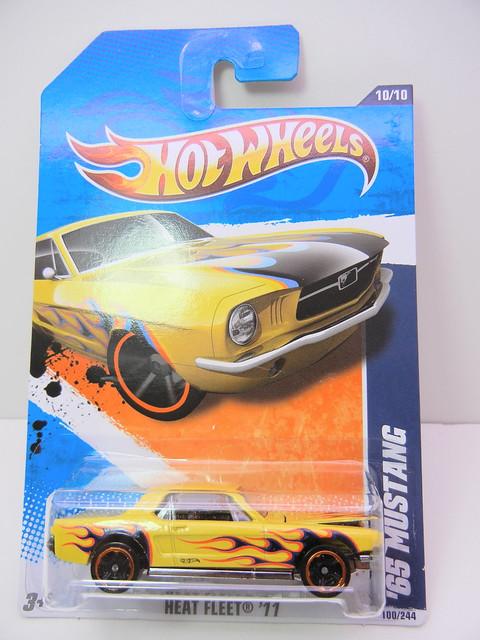 hot wheels heat fleet '65 mustang (1)