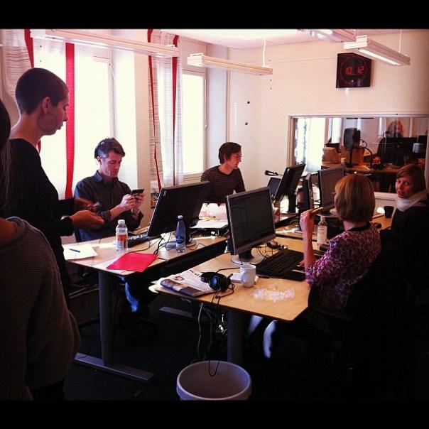 Trångt om saligheten på #alltidnyheter