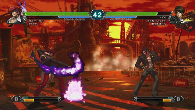 The King Of Fighters Xiii Interview Fighting Its Way Back To The Throne Playstation Blog