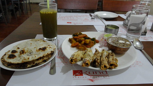 Lunch at Kund Indian Barbeque