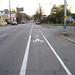 OK - the bike lane starts