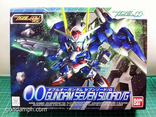 SD 00 Gundam Seven Sword G Review OOB Build GundamPH (1)