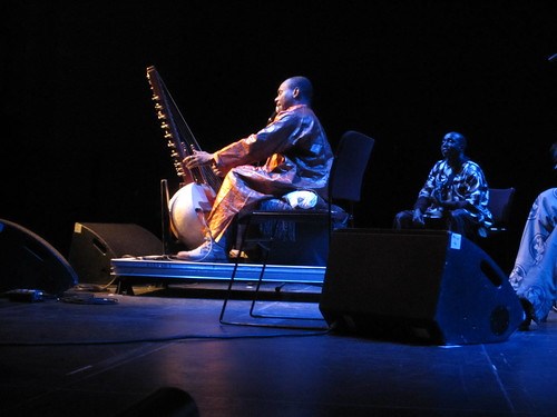 Toumani Diabate onstage in Brighton