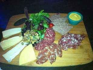 Meat & cheese platter at BXL East