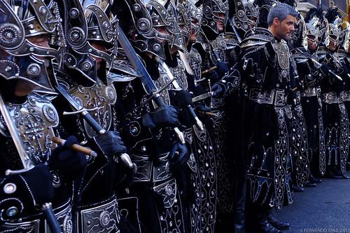 The black knights of Valencia by FERDi 