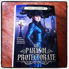 The Parasol Protectorate by Gail Carriger (a 3...