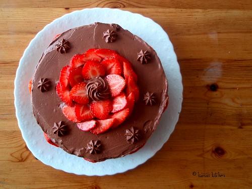 ultimate chocolate cake - 1