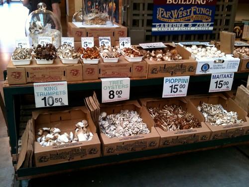 mushroom shop @ the ferry building