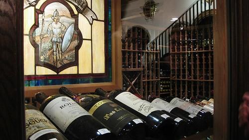spanish wine closet