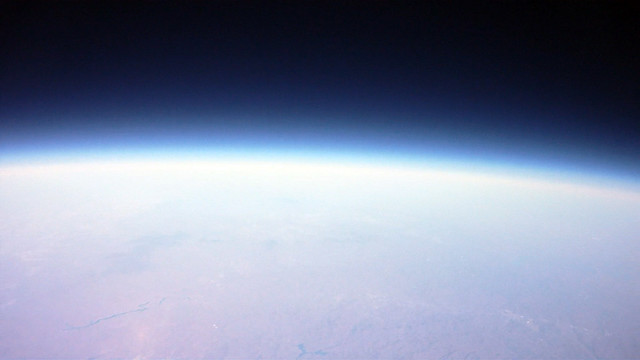 At the edge of space
