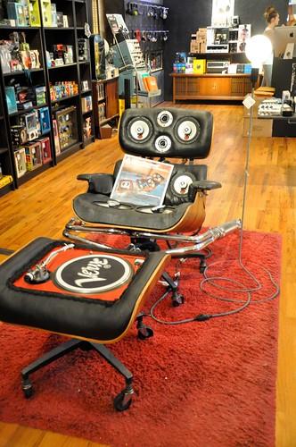 Turntable Chair @ Dijitalfix, Brooklyn