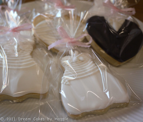 Wedding Cookies Wrapped