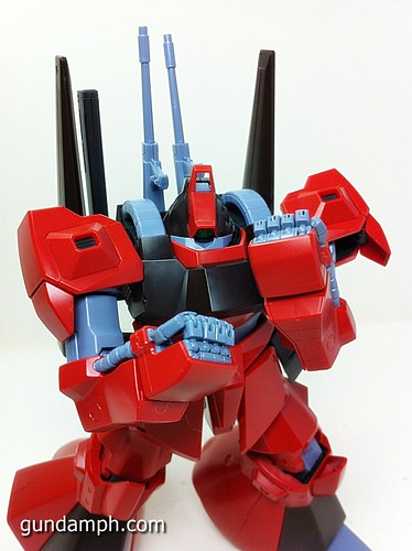 MG Rick Dias Quattro Custom RED Review OOB Build (64)