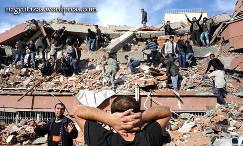 Földrengés Kelet-Törökországban